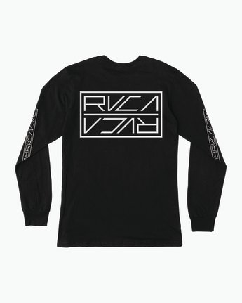 0 Reflector Long Sleeve T-Shirt Black M495SRRE RVCA