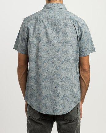 3 Shimmy Button-Up Shirt Blue M505SRSH RVCA