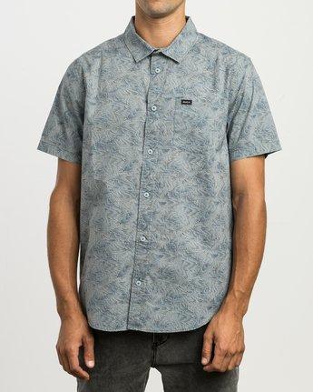 1 Shimmy Button-Up Shirt Blue M505SRSH RVCA