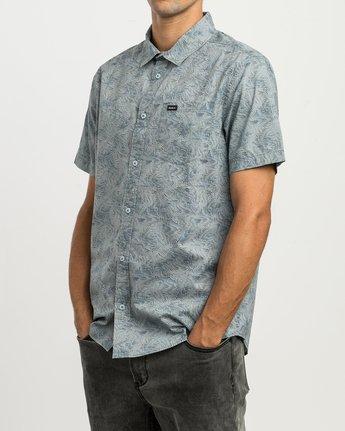 2 Shimmy Button-Up Shirt Blue M505SRSH RVCA