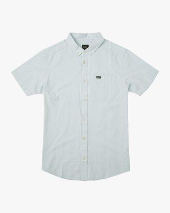0 That'll Do Dobby Button-Up Shirt Blue M511TRDB RVCA