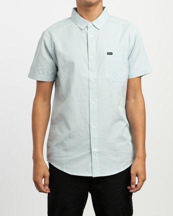 1 That'll Do Dobby Button-Up Shirt Blue M511TRDB RVCA