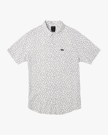 0 Ficus Floral Button-Up Shirt White M520TRBF RVCA