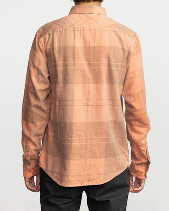 3 Good Stuff Neutral Flannel Orange M525QRGS RVCA