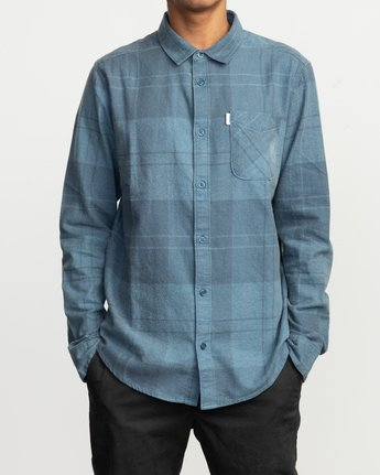 1 Good Stuff Neutral Flannel Blue M525QRGS RVCA