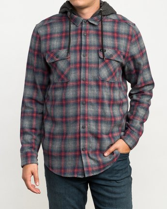 1 Christian Fletcher Good Hombre Flannel Grey M560QRGO RVCA