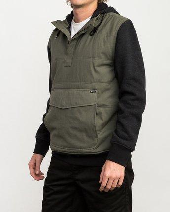 2 Grip It Puffer Jacket Green M602QRGT RVCA
