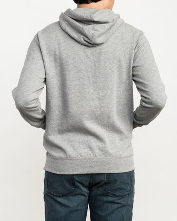 3 Reflection Box Hoodie Grey M602QRRB RVCA