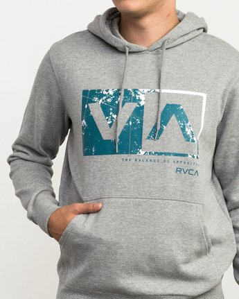 4 Reflection Box Hoodie Grey M602QRRB RVCA