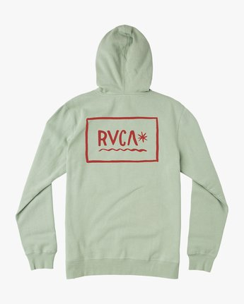 0 Squig Hoodie Green M602QRSP RVCA