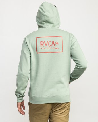 4 Squig Hoodie Green M602QRSP RVCA