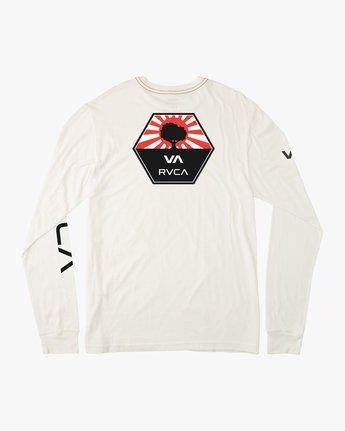 0 Bruce Irons Long Sleeve T-Shirt White M605M01B RVCA