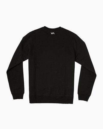 1 San Francisco VA Crew Sweatshirt Black M622SRSV RVCA