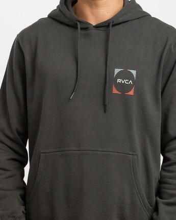 4 Logo Pack Hoodie Black M625TRLO RVCA