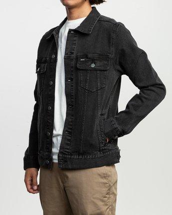 3 Daggers Denim Jacket  M703TRDV RVCA