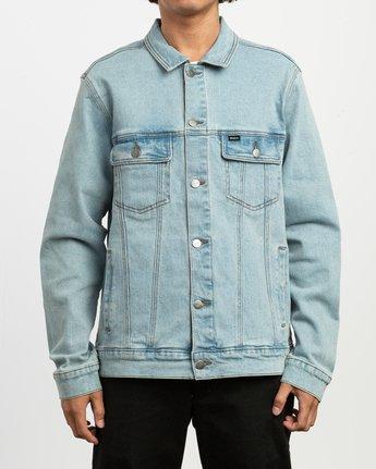 2 Daggers Denim Jacket Blue M704TRDO RVCA