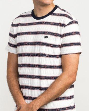 4 Outer Sunset Knit T-Shirt  M902QROS RVCA