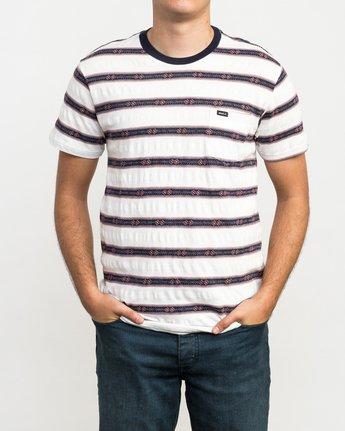 1 Outer Sunset Knit T-Shirt  M902QROS RVCA