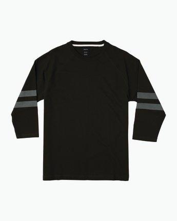 0 Oldham Jersey Shirt Black M906SROJ RVCA