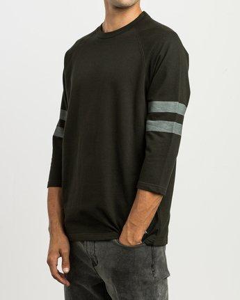 2 Oldham Jersey Shirt Black M906SROJ RVCA
