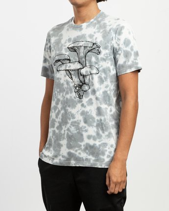 2 Sage Vaughn Tie-Dye T-Shirt White M907TRVS RVCA