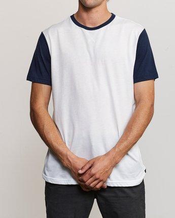 1 Pick Up II Knit T-Shirt White M913QRPU RVCA