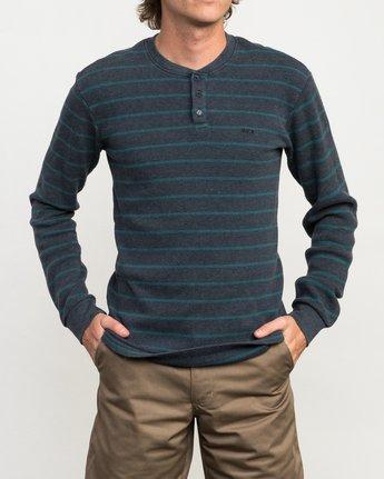 1 Harpoon Thermal Knit Shirt  M953QRHT RVCA
