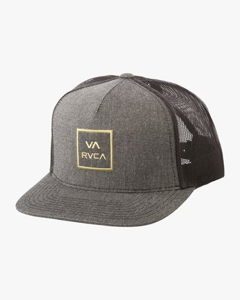 0 VA All The Way Trucker Hat III Grey MAAHWVWY RVCA 5aece77995f6