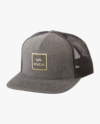 c5fe1d49451 0 VA All The Way Trucker Hat III Grey MAAHWVWY RVCA