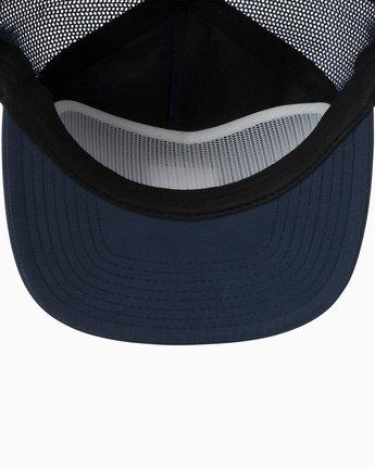 2 VA All The Way Trucker Delux Hat Blue MAHWQRTD RVCA