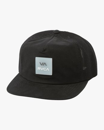0 VA All The Way Trucker Delux Hat Black MAHWQRTD RVCA
