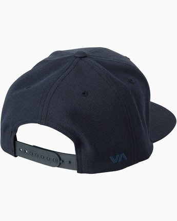1 Diagram Snapback Hat Blue MAHWTRDG RVCA