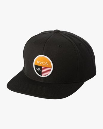 0 Diagram Snapback Hat Black MAHWTRDG RVCA