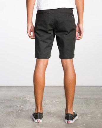 4 Week-End Stretch Shorts Black MC202WKS RVCA