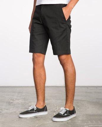 2 Week-End Stretch Shorts Black MC202WKS RVCA