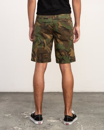 4 Week-End Stretch Shorts Camo MC202WKS RVCA