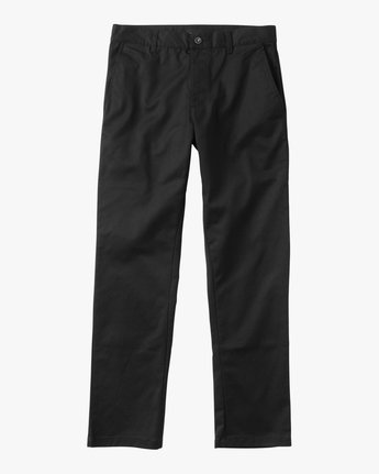 6 Week-end Stretch Pants Black MC303WST RVCA