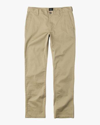 5 Week-end Stretch Pants Green MC303WST RVCA