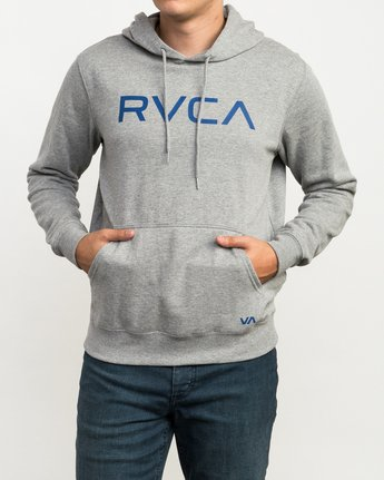 1 Big RVCA Hoodie Grey MF70Q00B RVCA