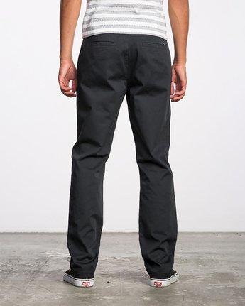 3 The Dayshift II Chino Pants Black MG302DAY RVCA