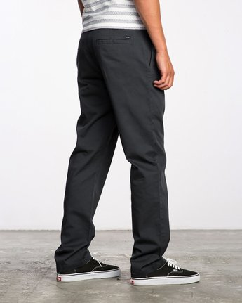 4 The Dayshift II Chino Pants Black MG302DAY RVCA