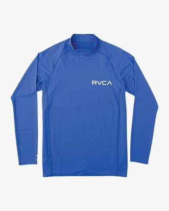 RVCA SOLID LS RASHGU  MJR03RSL