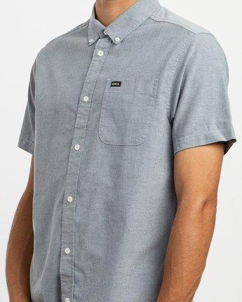 4 That'll Do Stretch Short Sleeve Shirt Blue MK515TDS RVCA