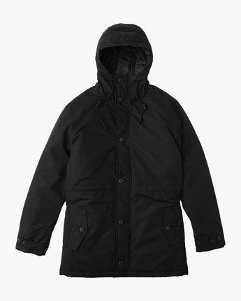 0 No Boundaries Parka Jacket Black ML705NOP RVCA