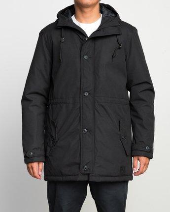 1 No Boundaries Parka Jacket Black ML705NOP RVCA