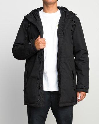 2 No Boundaries Parka Jacket Black ML705NOP RVCA