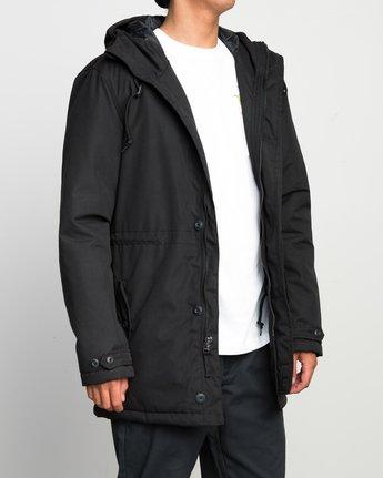 4 No Boundaries Parka Jacket Black ML705NOP RVCA