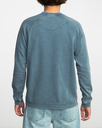 3 Neutral Pullover Sweater Purple MLFF03NE RVCA