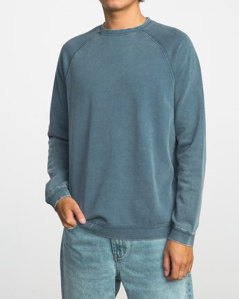 1 Neutral Pullover Sweater Purple MLFF03NE RVCA
