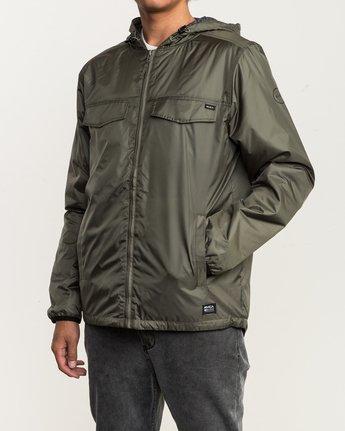 4 Tracer Jacket Green MM702TRA RVCA